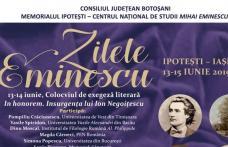 Zilele Eminescu, ediția iunie 2019, organizate la Memorialul Ipotești