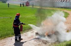 Cei mai buni pompieri voluntari din județ s-au întrecut la Dorohoi. Vezi cine a câștigat! - FOTO