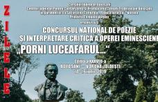 """Concursul Național de Poezie și Interpretare Critică a Operei Eminesciene """"Porni Luceafărul…"""", ediţia a XXXVIII-a"""