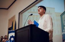"""Elev de la Colegiul Național """"Grigore Ghica"""" Dorohoi premiat la Gala Elevului Reprezentant"""