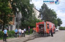 Incendiu într-un apartament din Dorohoi. Pompierii au prevenit extinderea flăcărilor - FOTO