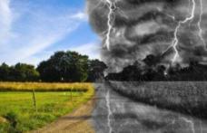 Vremea rămâne instabilă. Sunt aşteptate averse şi vijelii