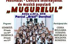 """O nouă ediție a Festivalului Internațional """"Mugurelul"""" Dorohoi"""