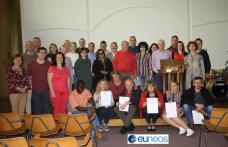 Școala Gimnazială Al.I. Cuza Dorohoi: Formare profesională în context European - FOTO