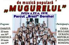 """Festivalul Internațional de Muzică Populară """"Mugurelul"""" se va desfășura duminică, 23 iunie. Vezi detalii!"""