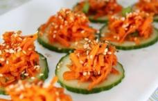 Salată cu morcov și măr