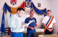 Ceremonie de depunere a jurământului la Primăria comunei Ibănești - FOTO