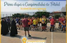 Campionat de Fotbal organizat de Arhiepiscopia Iașilor - FOTO