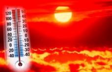 Joi vor fi 36 de grade, dar vineri temperaturile scad si cu 12 grade