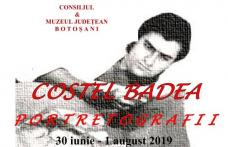 """Costel Badea – Portretografii: Expoziție deschisă la Galeriile de Artă """"Ștefan Luchianˮ Botoșani"""