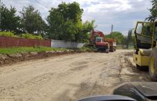 Noi drumuri judeţene au intrat în reabilitare - FOTO