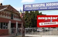 Spitalul Municipal Dorohoi scoate la concurs un post de asistent medical și un post de îngrijitoare