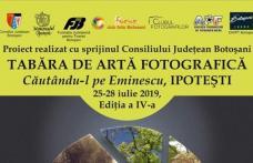"""Fotografi din mai multe județe ale țării prezenți, la Ipotești, la Tabără de artă fotografică """"Căutându-l pe Eminescu"""""""