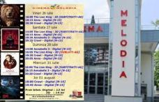 """Vezi ce filme vor rula la Cinema """"MELODIA"""" Dorohoi, în săptămâna 26 iulie – 1 august – FOTO"""