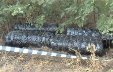 Patru cetățeni români reţinuţi pentru contrabandă cu ţigări la frontiera cu Moldova