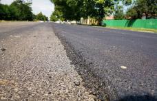 Covoare asfaltice pe drumurile naționale din județul Botoșani - FOTO