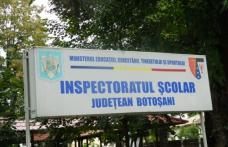 IȘJ Botoșani anunță concurs pentru ocuparea postului de director în două școli din Dorohoi. Vezi detalii!