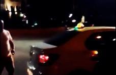 Botoșănean imobilizat de taximetriști după ce a hărțuit copii și femei în plină stradă