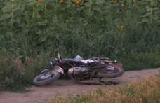 Un tânăr pe motocicletă, fără permis, prins de poliție după o urmărire în trafic
