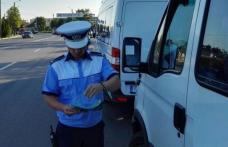 ACȚIUNEA TRUCK & BUS. Polițiștii au aplicat 322 de sancţiuni și au reținut 25 de permise de conducere
