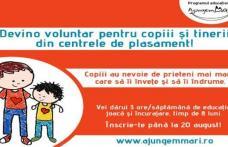 Fii prietenul copiilor din centrele de plasament!