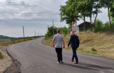 Vizite în teren pentru verificarea lucrărilor de reparații și întreținere a drumurilor județene - FOTO