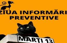 Marți 13, Ghinionul poate fi prevenit: SVSU Dorohoi desfăşoară activităţi de informare şi conştientizare a populaţiei
