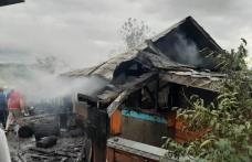 Incendiu într-o gospodărie din Ungureni! Pompierii din Dorohoi și Botoșani solicitați în sprijin - FOTO