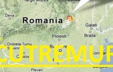 Cutremur în Vrancea de 3,2, sâmbătă după-amiază