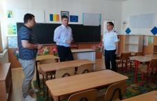 Unităţi de învăţământ verificate de prefectul Dan Șlincu - FOTO