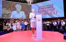 """""""România trebuie condusă dintre oameni, împreună cu ei, alături de ei"""", le-a spus Viorica Dăncilă delegaților de la Congres"""