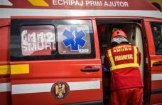 Accident mai puțin obișnuit: Botoșănean ajuns la spital după ce a fost lovit de propria mașină