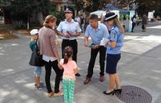"""""""10 pentru siguranţă"""" -  campanie a polițiștilor la Dorohoi – FOTO"""