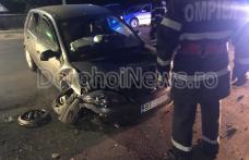 Accident cu trei răniți: O șoferiță începătoare a intrat cu mașina într-un cap de pod la Cătămărăști Deal - FOTO
