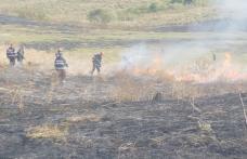 Incendiu puternic la Văculești! 20 de pompieri dorohoieni intervin pentru stingere – FOTO