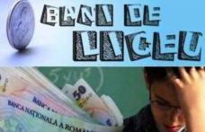 """Anunţ important privind calendarul de desfăşurare a Programului naţional de protecţie socială """"BANI DE LICEU"""""""