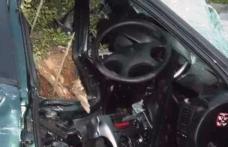 Femeie din Dorohoi rănită într-un accident produs de un șofer băut care a intrat cu mașina într-o cioată de copac