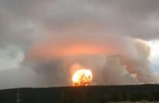 Infernul pe Pământ! O nouă explozie periculoasă. Rusia pune în pericol toată planeta!
