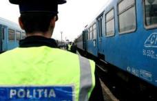 """Razie de amploare a Poliției în sute de stații CFR din țară. A demarat acțiunea """"Clean Stations"""""""