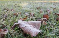 Cea mai scăzută temperatură din acest sezon: minus 4,2 grade Celsius, în această dimineață