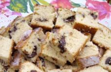 Prăjitură fragedă cu nutella și nucă
