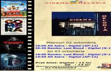 """Vezi ce filme vor rula la Cinema """"MELODIA"""" Dorohoi, în săptămâna 27 septembrie – 3 octombrie – FOTO"""