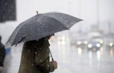 Vreme închisă și ploi în toată țara. Vezi prognoza pentru următoarele zile