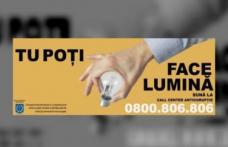 """Campanie națională de informare și conștientizare anticorupție """"Tu poţi face lumină"""""""