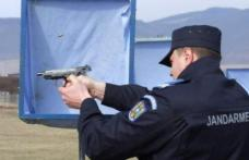 Incident grav! Jandarm din Botoșani împușcat în poligonul unității