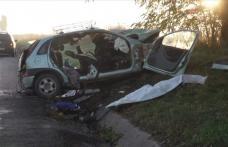 Grav accident pe drumul Botoșani – Iași. Doi morți și doi răniți după o depășire neregulamentară - FOTO