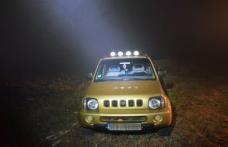 Suzuki cu numere false depistat în miez de noapte de poliţiştii de frontieră din Dorohoi