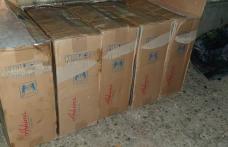 10.000 de pachete cu țigări de contrabandă, confiscate în urma cooperării la frontiera de est - FOTO