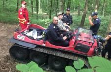 Mobilizare de forţe pentru a găsi un bărbat dispărut într-o pădure de lângă Hilişeu Horia