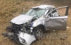 Grav accident cu trei victime produs pe DJ care leagă orașul Dorohoi de localitatea Dumeni - FOTO